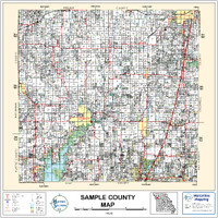 Atchison County Missouri 2002 Wall Map