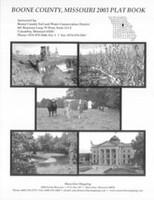 Boone County Missouri 2003 Plat Book