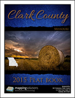 Clark County Missouri 2015 Plat Book