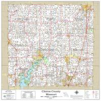 Clinton County Missouri 2021 Wall Map