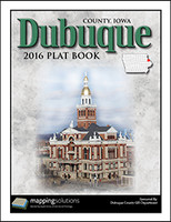 Dubuque County Iowa 2016 Plat Book