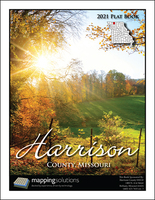 Harrison County Missouri 2021 Plat Book