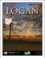 Logan County Ohio 2021 Plat Book