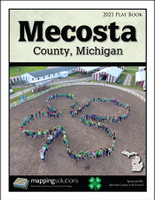 Mecosta County Michigan 2021 Plat Book