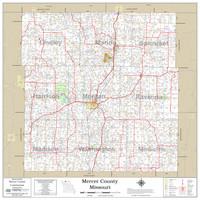 Mercer County Missouri 2020 Wall Map