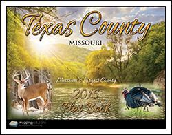 Texas County Missouri 2016 Plat book