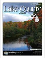 Lake County Michigan 2021 Plat Book
