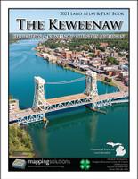 Houghton Keweenaw Counties Michigan 2021 Plat Book