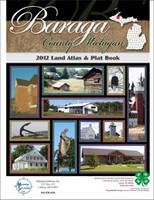 Baraga County Michigan 2012 Plat Book