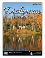 Dickinson County Michigan 2021 Plat Book