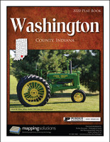 Washington County Indiana 2020 Plat Book