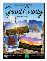 Grant County Wisconsin 2020 Plat Book