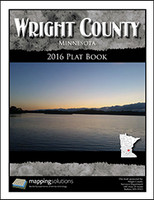 Wright County Minnesota 2016 Plat Book