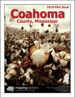 Coahoma County Mississippi 2018 Plat Book