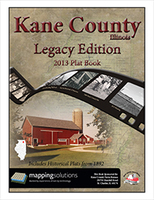 Kane County Illinois 2013 Plat Book