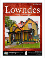 Lowndes County Mississippi 2018 Plat Book
