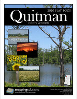 Quitman County Mississippi 2020 Plat Book