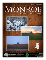 Monroe County Mississippi 2018 Plat Book