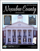 Noxubee County Mississippi 2019 Plat Book