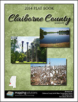 Claiborne County Mississippi 2014 Plat Book