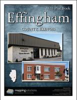 Effingham County Illinois 2021 Plat Book