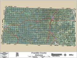 Franklin County Alabama 2014 Aerial Map