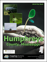 Humphreys County Mississippi 2018 Plat Book