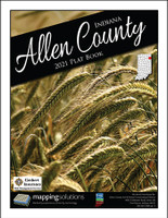 Allen County Indiana 2021 Plat Book