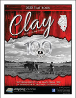 Clay County Illinois 2020 Plat Book