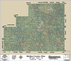 Medina County Ohio 2015 Aerial Map