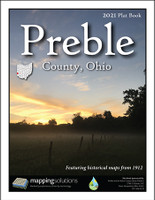 Preble County Ohio 2021 Plat Book