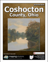 Coshocton County Ohio 2018 Plat Book