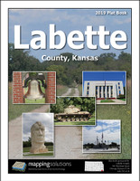 Labette County Kansas 2019 Plat Book