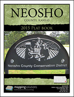 Neosho County Kansas 2015 Plat Book