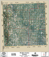 Neosho County Kansas 2015 Aerial Map