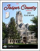 Jasper County Indiana 2015 Plat Book
