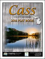 Cass County Michigan 2016 Plat Book