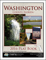 Washington County Florida 2016 Plat Book