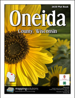 Oneida County Wisconsin 2020 Plat Book