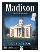 Madison County Mississippi 2020 Plat Book