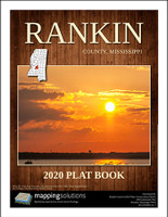 Rankin County Mississippi 2020 Plat Book
