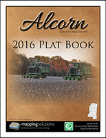 Alcorn County Mississippi 2016 Plat Book