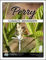 Perry County Mississippi 2016 Plat Book