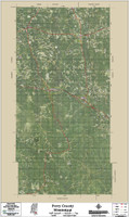 Perry County Mississippi 2016 Aerial Map