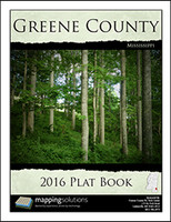 Greene County Mississippi 2016 Plat Book