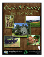 Copiah County Mississippi 2016 Plat Book