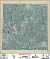 Crawford County Michigan 2017 Aerial Map