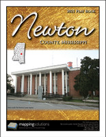 Newton County Mississippi 2021 Plat Book