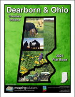 Dearborn-Ohio Counties Indiana 2021 Plat Book