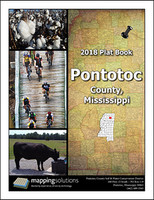 Pontotoc County Mississippi 2018 Plat Book